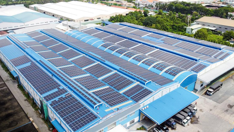 994 kWp Solaranlage - Dong Nam Viet Packaging 5