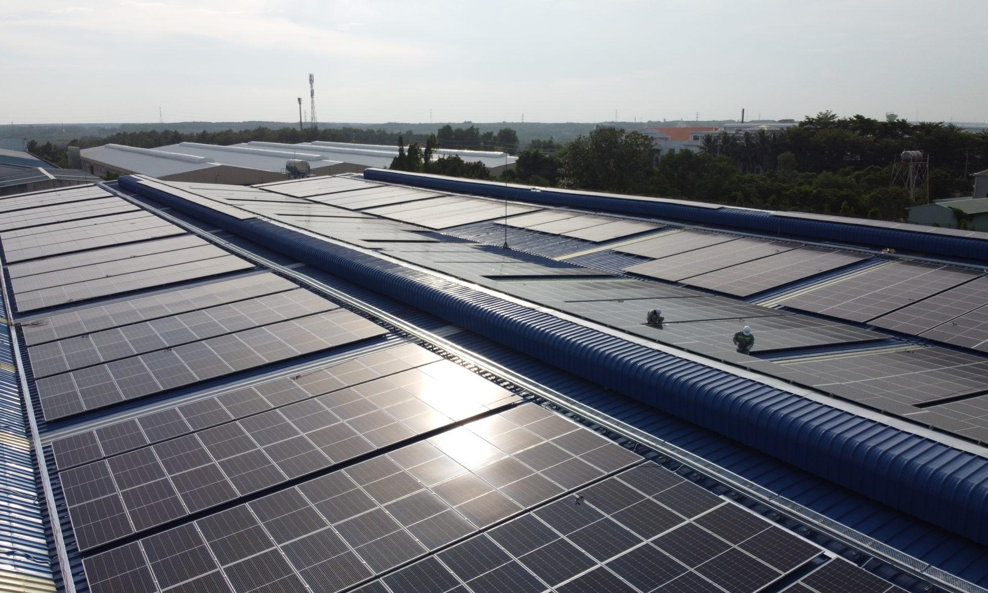 ecoligo: 994 kWp Solaranlage - Dong Nam Viet Packaging