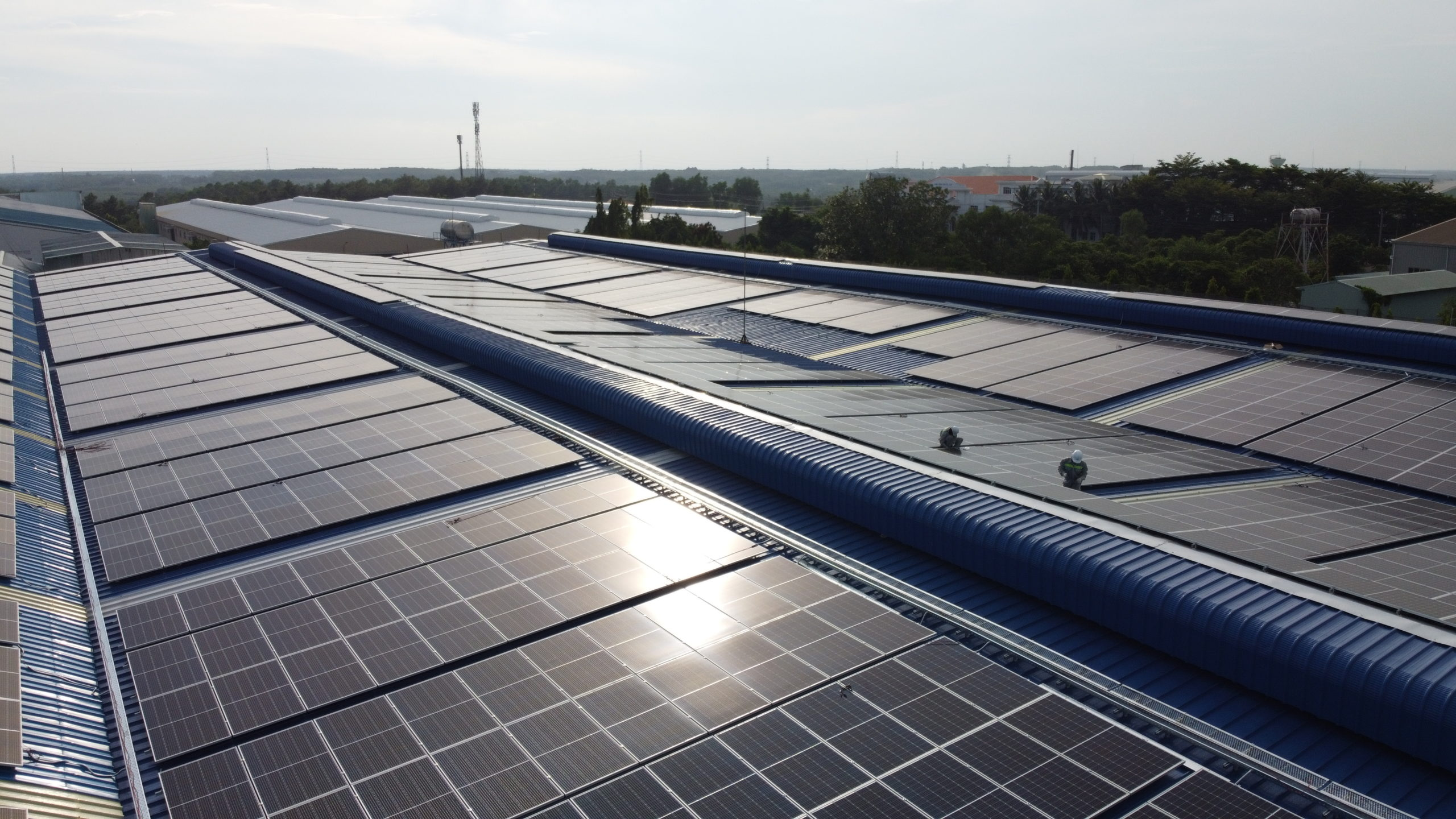 ecoligo Vietnam: 994 kWp Solaranlage - Dong Nam Viet Packaging