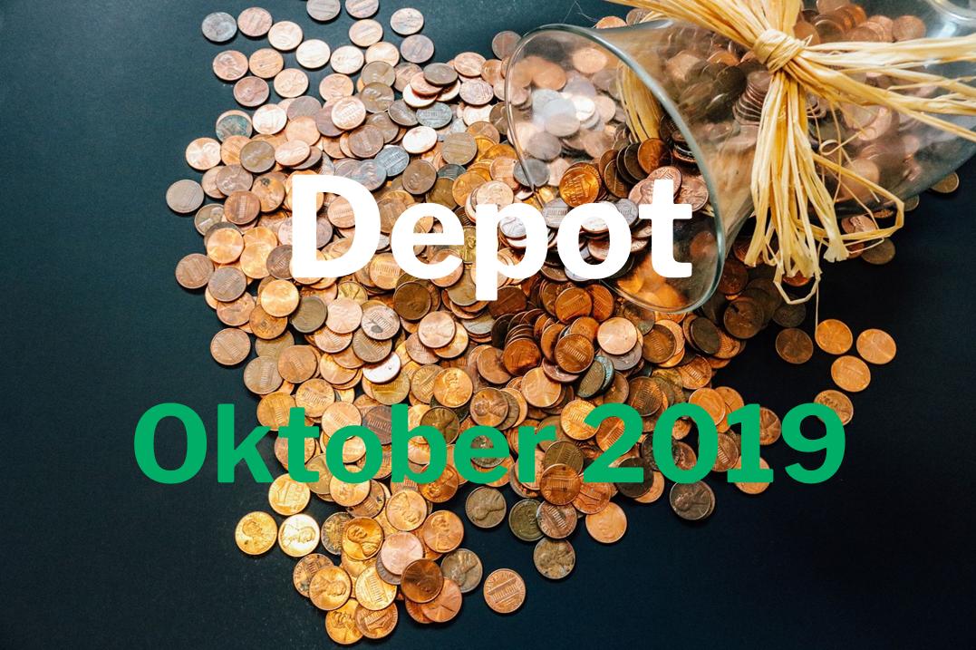 Depotbericht Oktober 2019