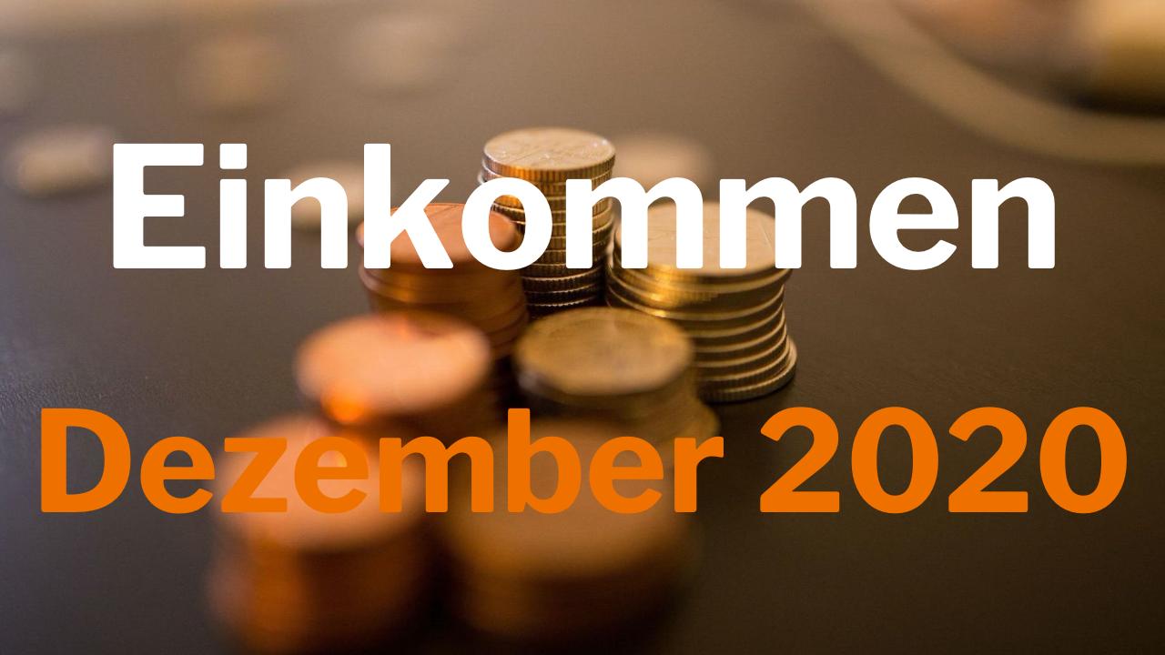 Einkommen Dezember 2020