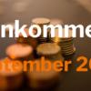 Einkommen September 2021