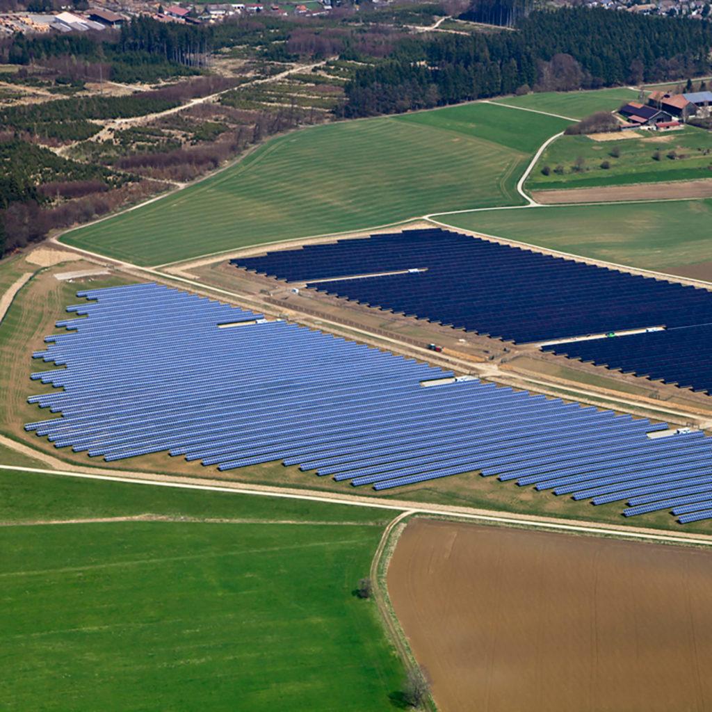 Encavis Solarpark Krumbach