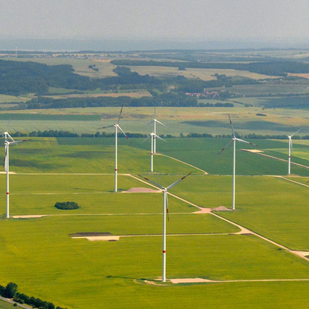 Encavis Windpark Obersleben