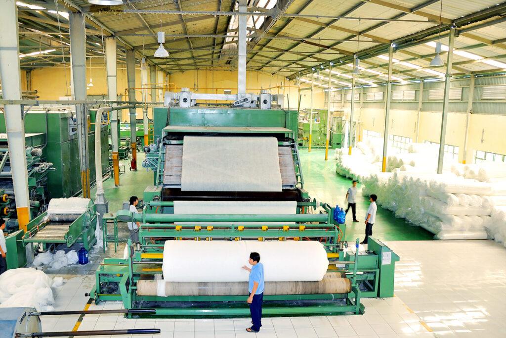 Nachhaltig Investieren: Mirae Fiber Produktion