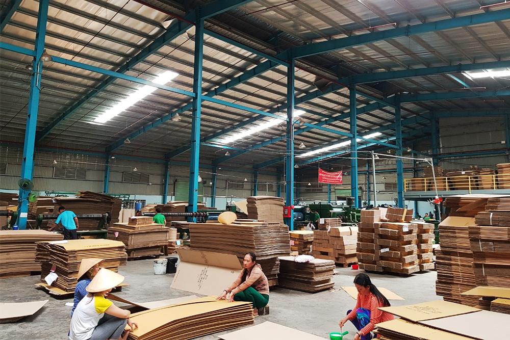 ecoligo: 325 kWp Solaranlage - Gia Gia Nghi Paper Packing