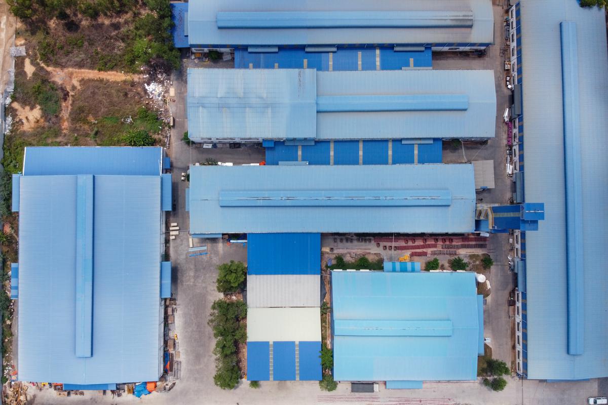 ecoligo: 706 kWp Solaranlage - Thien Nam Elevator