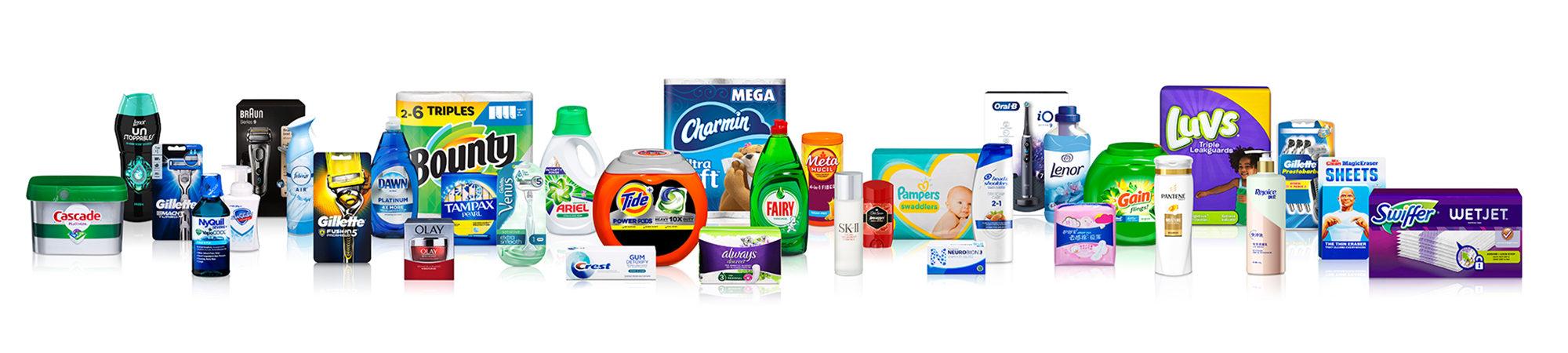 Procter & Gamble Markenportfolio