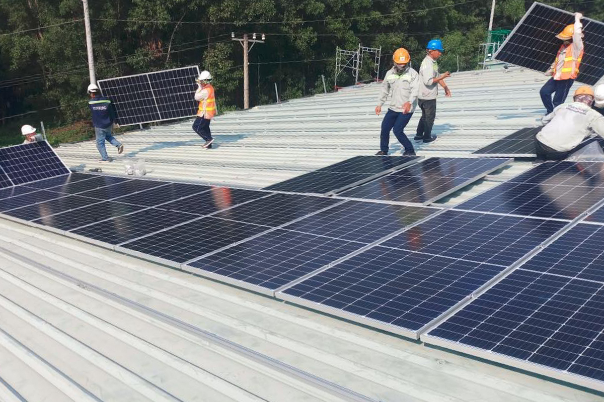 Thai Duong Rubber Solar Panel