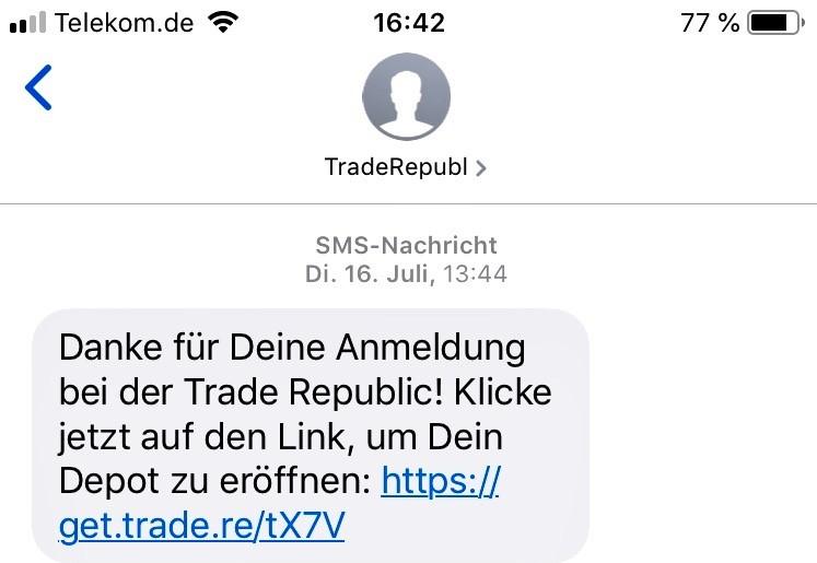 Trade Republic Anmeldung 4