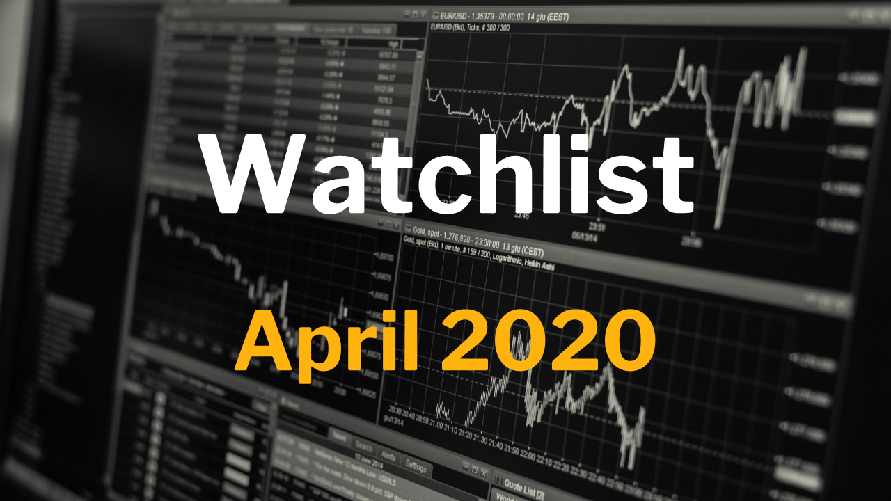 Watchlist April 2020