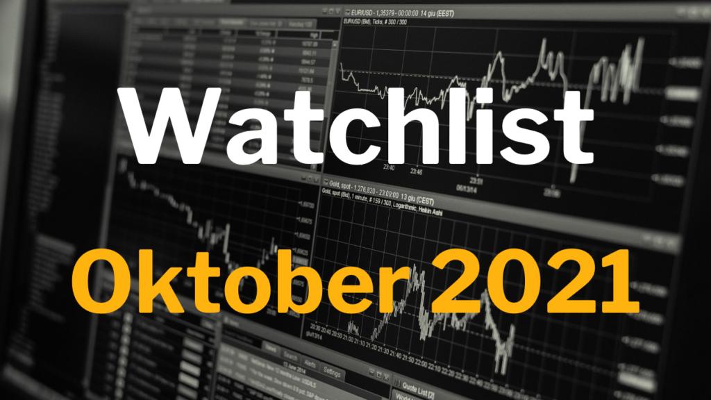 Watchlist Oktober 2021