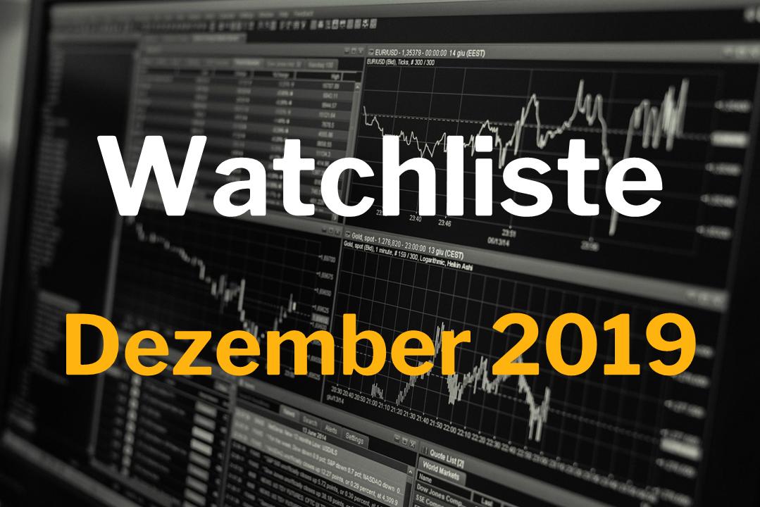 Watchliste Dezember 2019