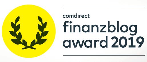 comdirect finanzblog award 2019