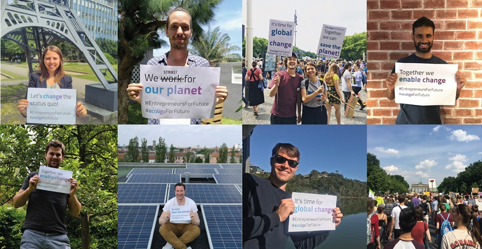 ecoligo climate strike